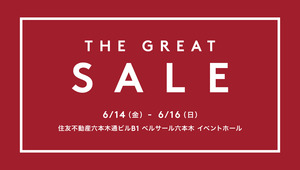 6/14 - 6/16: THE GREAT SALE
